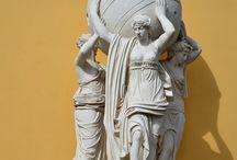 Sculptures / Photographs of sculptural artworks.