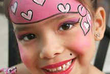 Face Paint designs for fairs and fetes