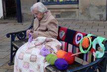Yarn-bombing