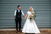 Ruffynes Barn wedding in Kent