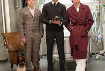 Kingsman: The Secret Service / Eggsy, J.B., Harry and Merlin.