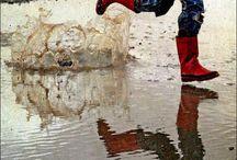 Toute la pluie tombe sur moi ...... / by Magali Germaux