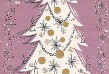 Vintage Christmas / Vintage Cards / by Leslie Wormworth