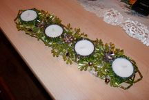 Vánoční korálky / Vánoční korálky - všechny jsou to má vlastní dílka a ještě možná i pár přidám :-)
