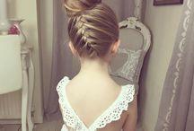 Mollie's wedding hair