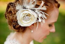 fascinators and hair clips / by Amy Mistric