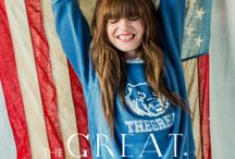PREFALL 2015 / THE GREAT. is a women's collection by Emily Current and Meritt Elliott. Known for their  distinct worldview- a playful, often nostalgic  take on American classics. #fashion #thegreat #americano #tomboy #madeinUSA