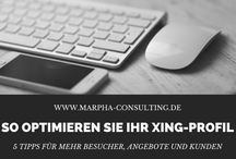 Xing & LinkedIn: Selbstmarketing und Marketing / Tipps und Tricks zu Selbstmarketing und Marketing via Xing und LinkedIn