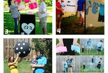 Gender reveal party / Revealing our baby to our family and friends!  / by Rachael Scallan