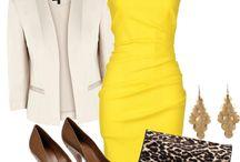 I love dresses - yellow