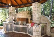 Outdoor Kitchens / by Cindy Johnson