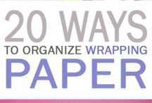 Wrapping Paper Wrap Up