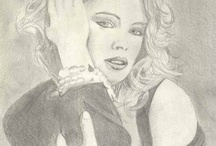 Kim Wilde paintings & drawings
