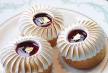 Kuchen mit Meringue