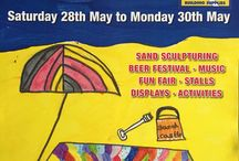 Kick Off the Summer May 28/29/30th 2016 / Sandsculpturing event in Redcar