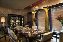Indian inspired interior