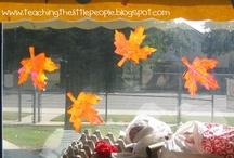 preschool fall theme