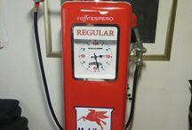 old pumps.. espresso machine