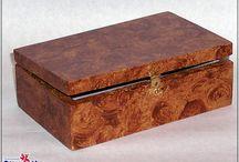 CAJAS- BANDEJAS- MADERAS / Cajas, bandejas y otros elementos de madera decorados. www.manualidadespinacam.com