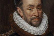 klassiek geschilderd portret