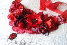 Adela Tarziu Jewellery / Embroidery necklaces