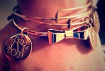 marley lilly monogrammed love <3 / by Michelle Fawcett