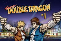 """Super Double Dragon [SNES] / Super Double Dragon, conhecido no Japão como """"Return of Double Dragon"""" . O seu genero de jogo é side-scrolling beat-'em-up  lançado para a Super Nintendo Entertainment System em 1992. Publicado pela companhia Technōs Japan."""