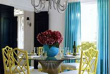 Dining Room Love / Idea's for my dining room, inspiration for my dining room, love for my dining room.   Bright, Simple, Classic, Fun / by Jessica Cook