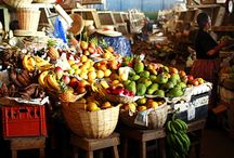 Tropical Fruits found in Jamaica / Fruits and Vegetables you might find in the farmer's market or from a road side fruit vendor