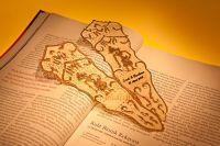 Pembatas Buku Wayang / Souvenir pembatas buku motif tokoh-tokoh wayang