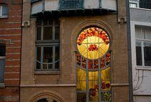 Buildings, doors, windows