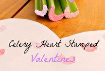 Valentine craft for kindy