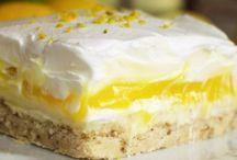 lemon cheese squares