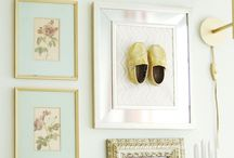 Babies room decoration / Framing babies shoes