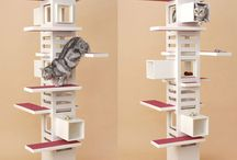 Cat Trees / I have to get a cat tree. How do we make it not ugly?  / by Jessica Gottlieb