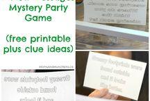 english parties ideas