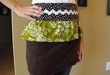 sew with tutorial - apron