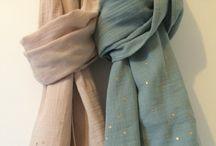 Le double gaze / Tableau rassemblant nos tissus double gaze disponible sur notre boutique en ligne et les diverses réalisations possibles avec ce tissu aérien et léger.
