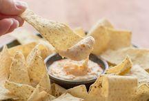 sauces, dips, jams, salsas, butters, dressings.