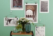 Art display ideas