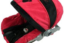 Mickey Mouse Inspired Car Seat Covers