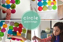 Kid craft / Fun stuff to do with or for the little artist