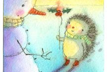Christmas cards & illustration / by Val Lesiak