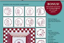 Machine Embroidery Disks
