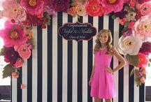 ściany kwiatowe