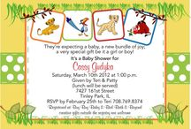 Candace's Baby Shower / Lion King!  / by Laura W
