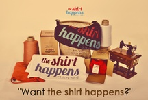 the shirt happens world / Welcome to our World, where great t-shirts just begin!  www.theshirthappens.com | www.twitter.com/theshirthappens | www.facebook.com/theshirthappens.clothing | www.pinterest.com/theshirthappens | mail@theshirthappens.com | +62 818 0695 3838