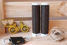 Bicycle Handlebar Grips / Design handmade leather bicycle handlebar grips You may order via our Online Store Please get in touch for queries and customised orders