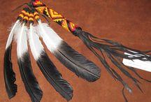 Abanico de pluma