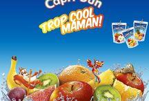 Inspiration Trop cool maman Capri-Sun - Very Good Moment / Offrez à vos enfants un goûter fun et inoubliable grâce à Capri-Sun, la mini boisson aux fruits plates préférée des mamans et de leurs enfants !